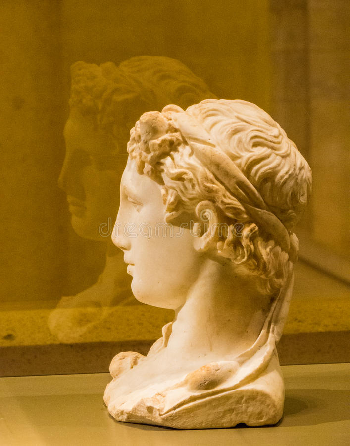 Roman statue royalty free stock photos
