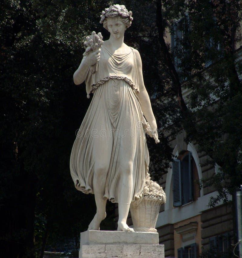 Roman Staty Arkivbild