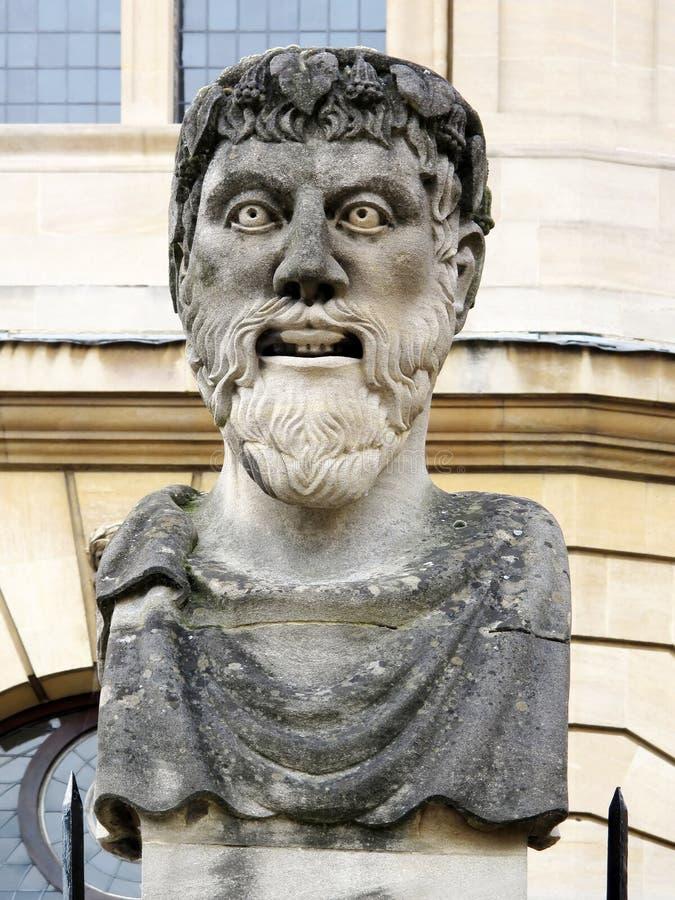 Roman style bust, Oxford