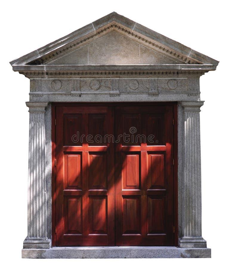 Roman-style door stock images