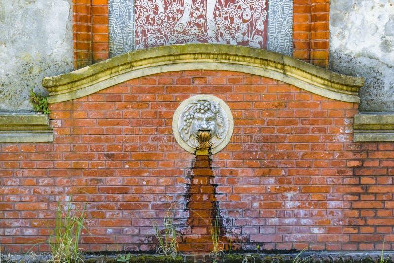 Roman Style Fountain, Montevideo, Uruguay stockbild