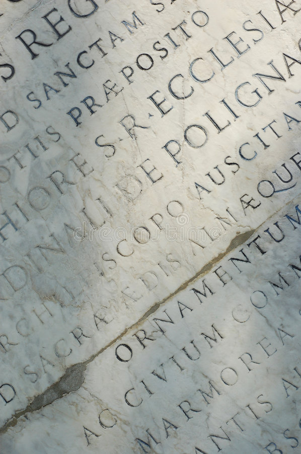 Roman Tablet royalty free stock photography