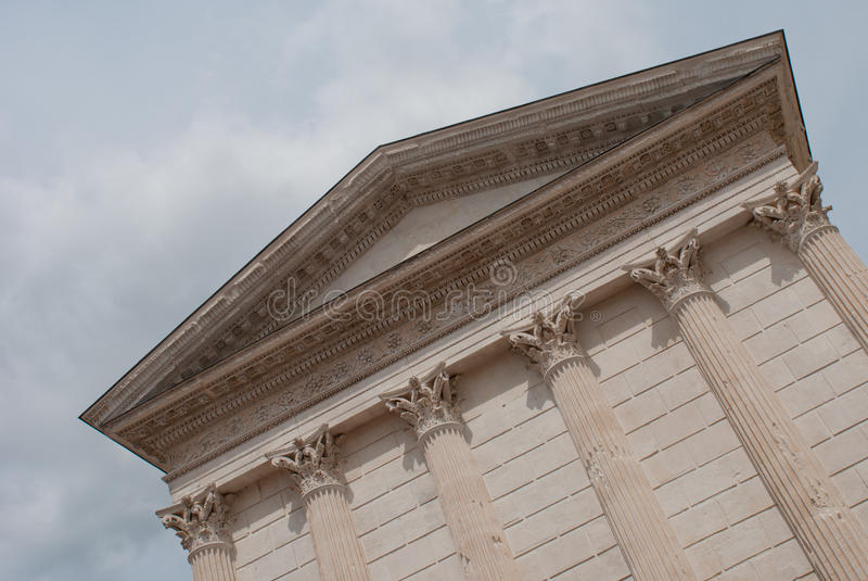Roman tempel royalty-vrije stock afbeeldingen