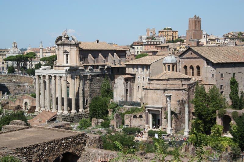 Roman Temples antigo imagens de stock royalty free