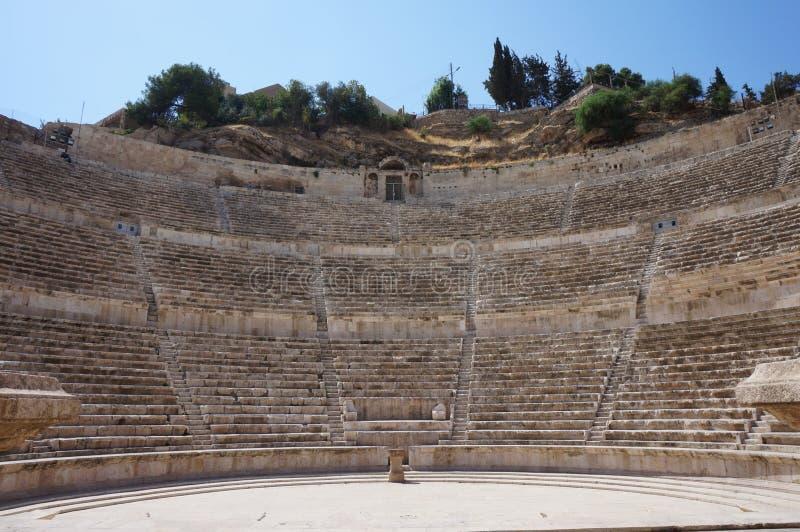 Roman theater stock foto's