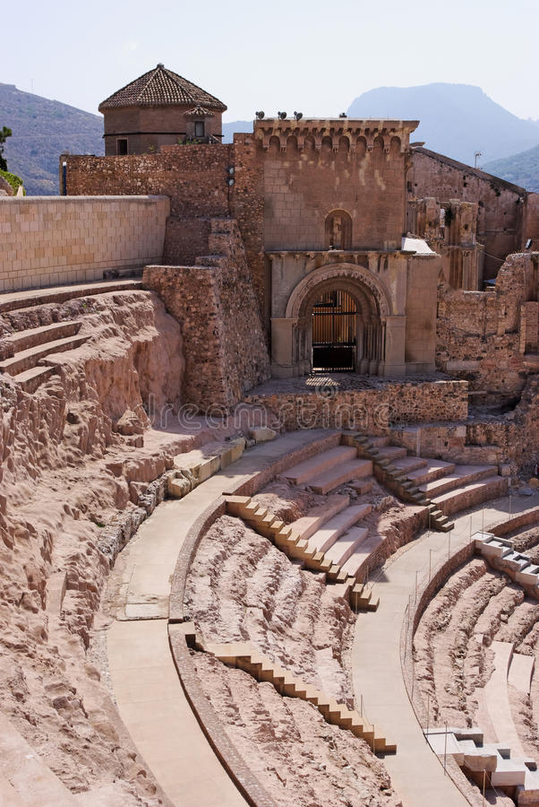 Free Roman Theater In Cartagena Royalty Free Stock Photo - 15582975