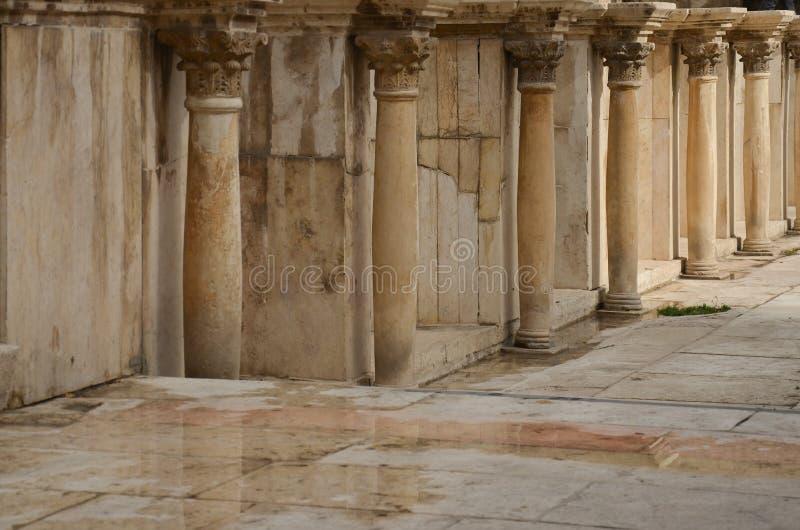 Roman Theatre, Amman images stock