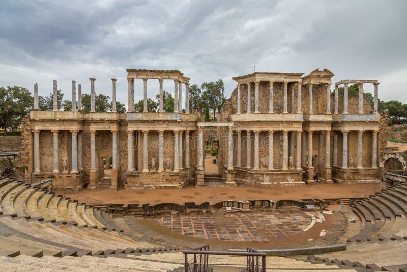 Roman Theatre Mérida 2 royalty free stock photo