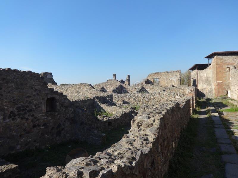Roman Villa Ruins at Pompeii 23 royalty free stock photos