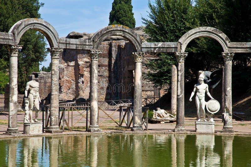 Roman villa - Tivoli royalty free stock photography