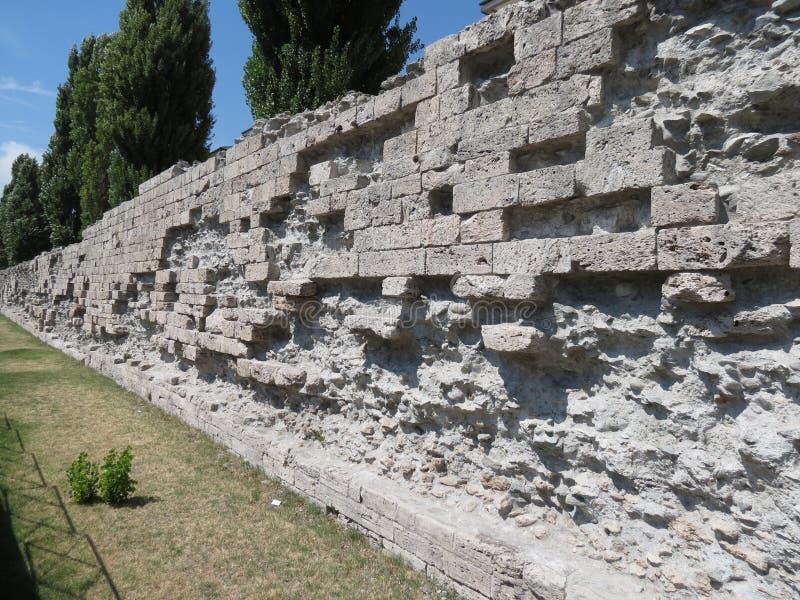 Download Roman walls stock image. Image of walls, roman, stone - 29692189
