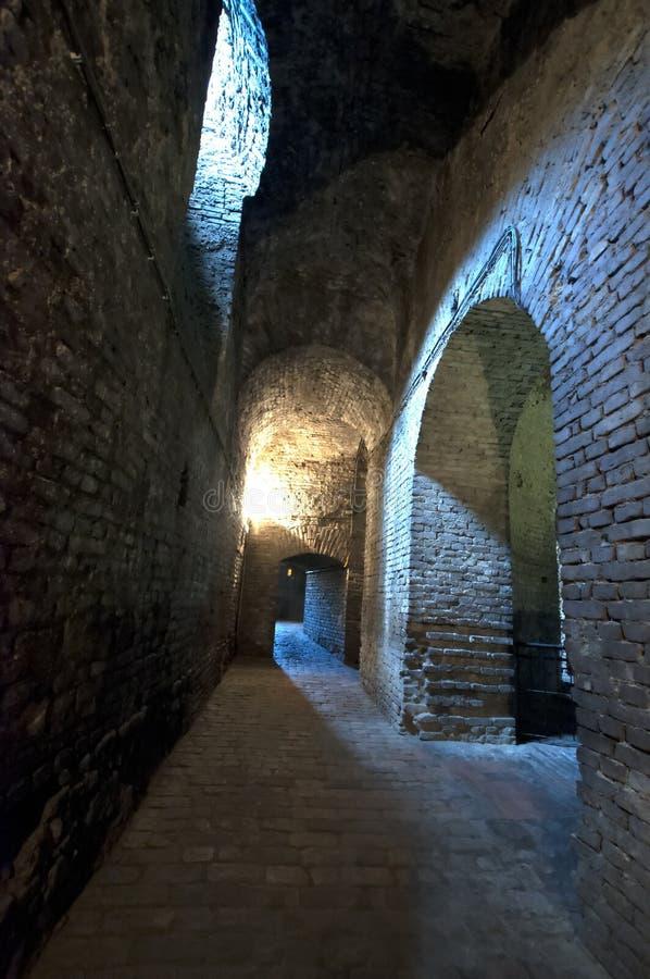 Roman Well en Kalemegdan, Belgrado, Serbia imagenes de archivo