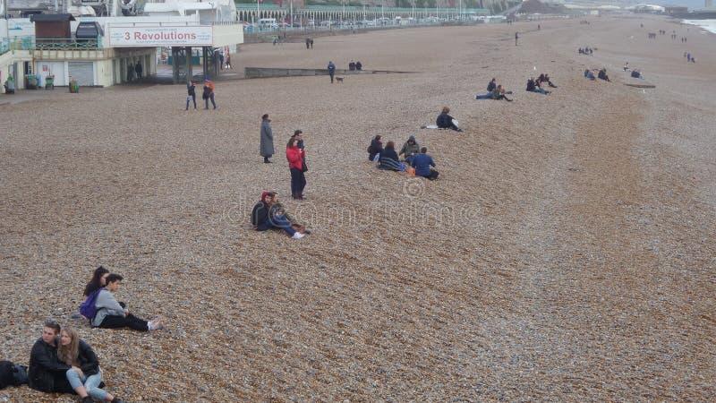 Romance à Brighton image stock