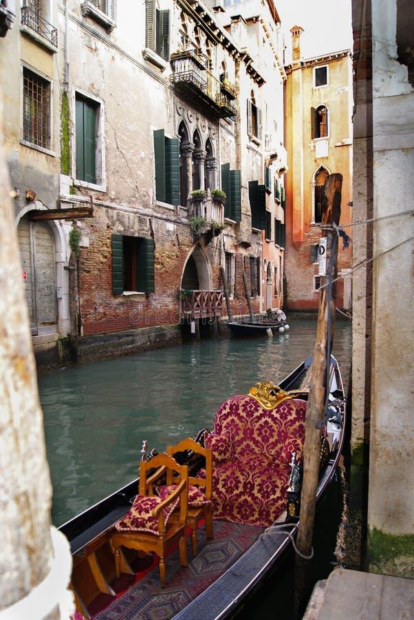 Romance Венеции стоковые фотографии rf