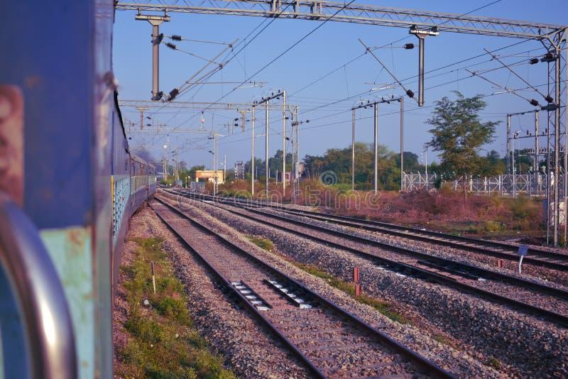 Romance железных дорог стоковые изображения rf