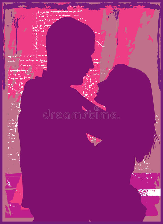 Download Romance stock vector. Image of brunette, affection, fresh - 14568186