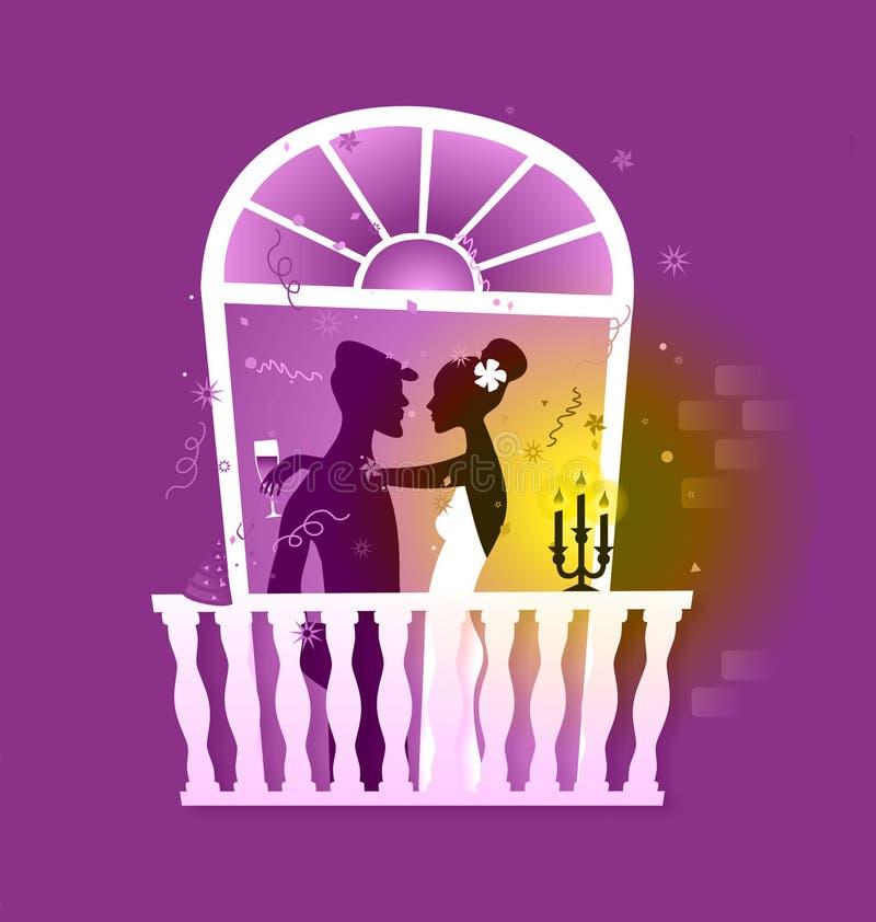 romance royalty ilustracja