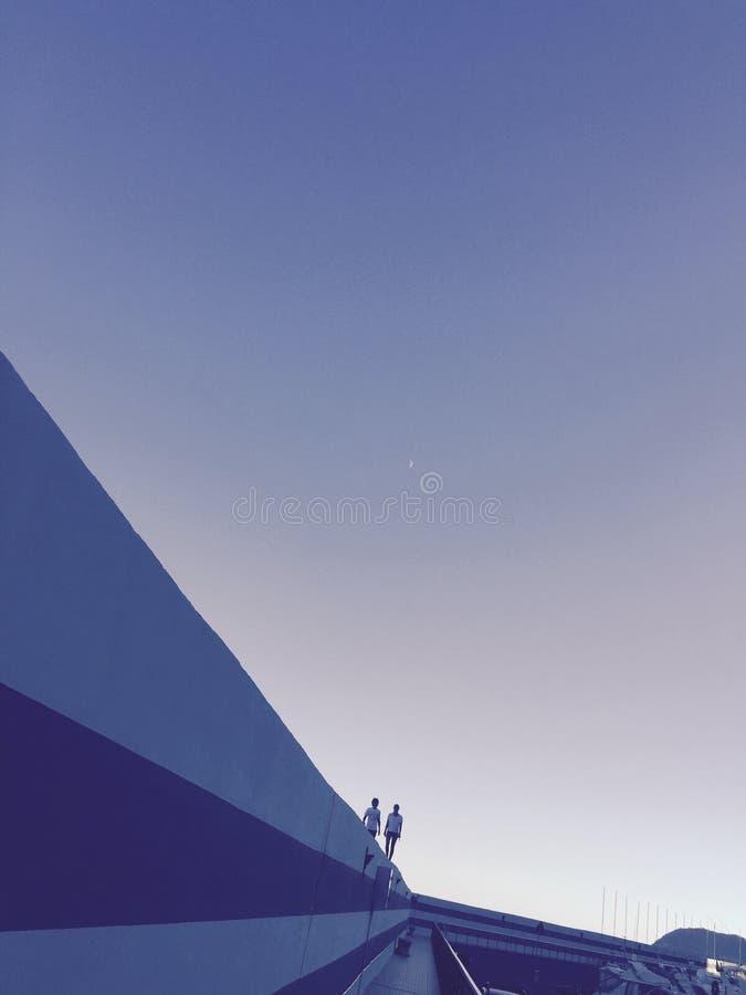 Romance azul fotos de archivo libres de regalías