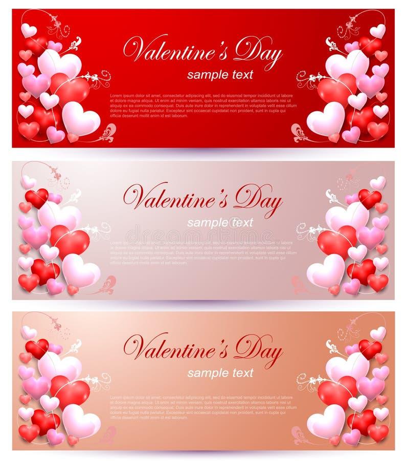 Romance Charm on Valentines Day vector illustration
