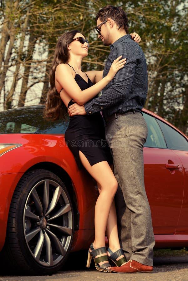 Romance da estrada imagem de stock