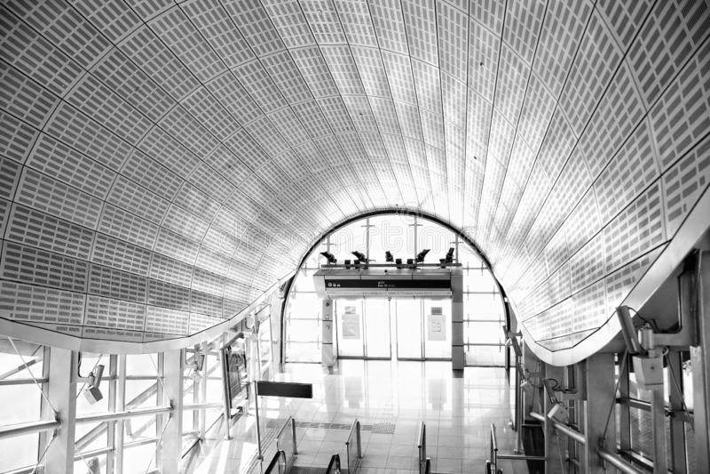 Romance del viaje de la arquitectura de Dubai fotos de archivo