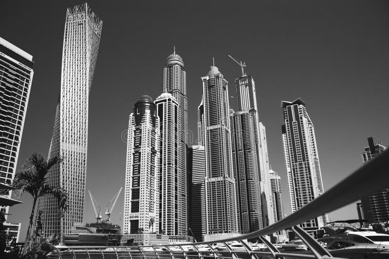 Romance del viaje de la arquitectura de Dubai imagen de archivo libre de regalías