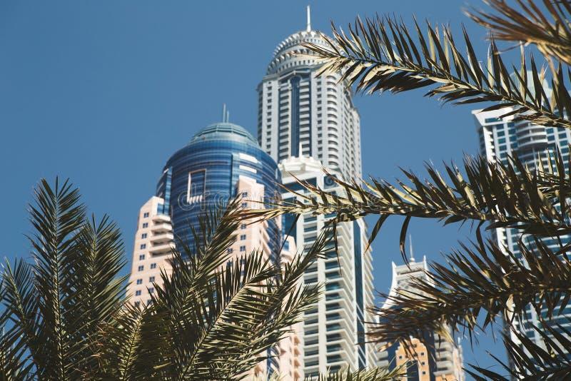 Romance del viaje de la arquitectura de Dubai imagen de archivo