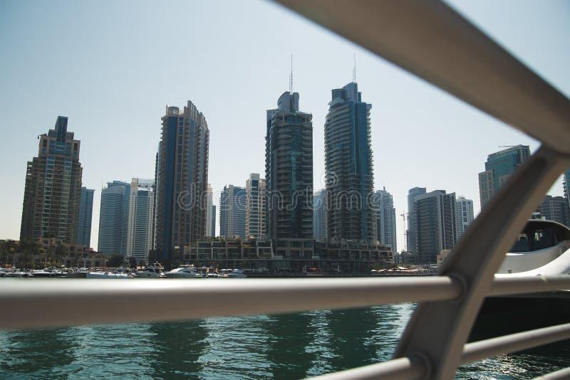 Romance del viaje de la arquitectura de Dubai foto de archivo