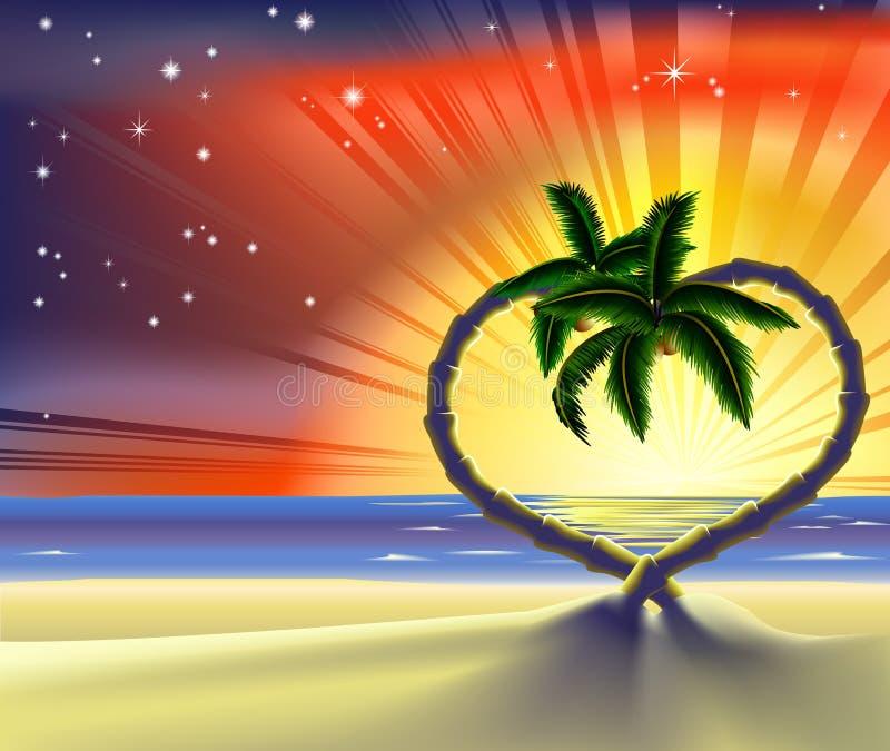 Romance do feriado 2011 2 [convertido] ilustração stock