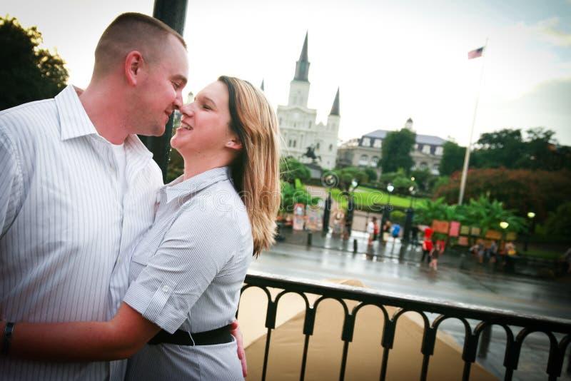 Romance em Nova Orleães fotos de stock