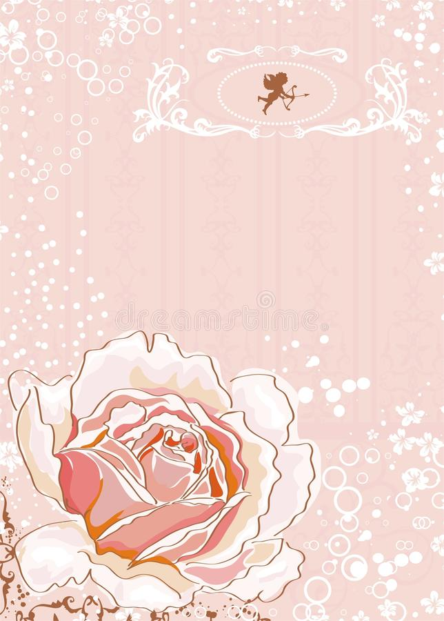Download Romance frame stock vector. Image of decoration, illustration - 18490014