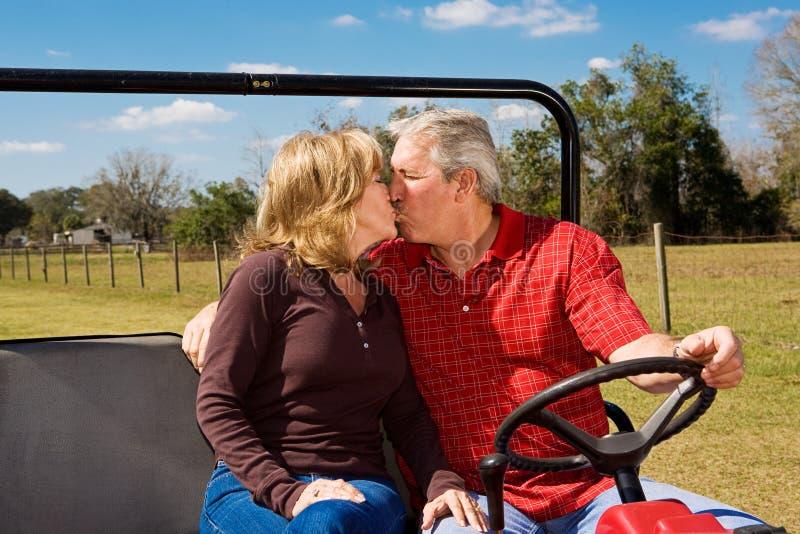 Romance na escala foto de stock royalty free
