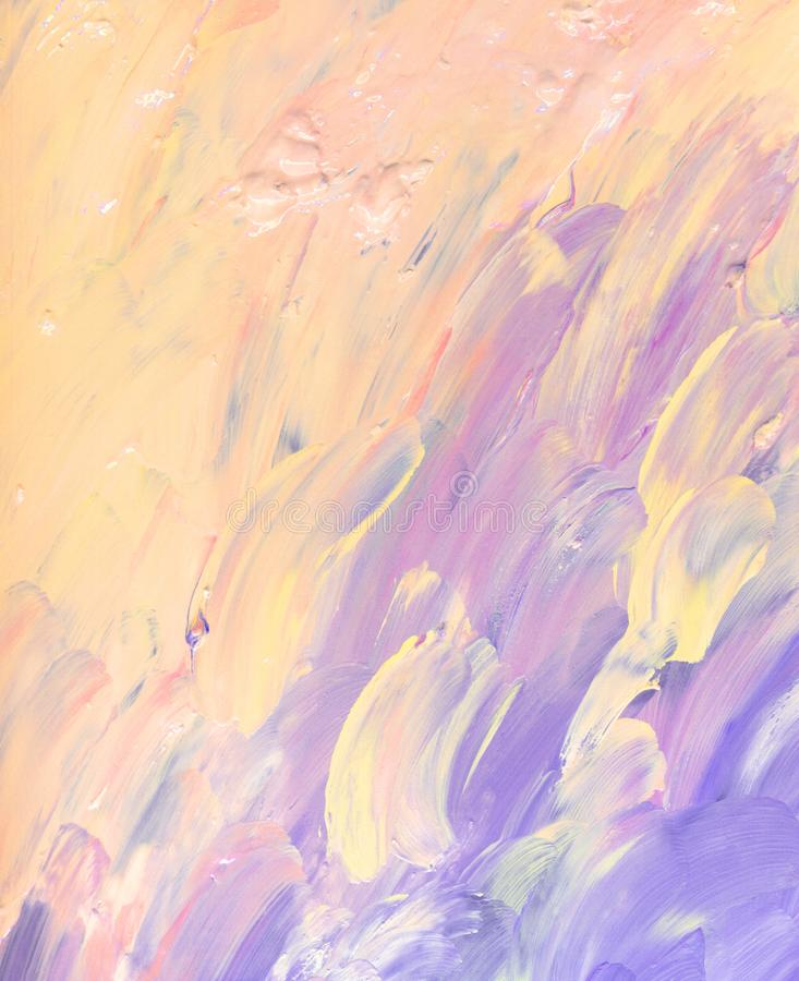 Abstract oil art painting background stock photo