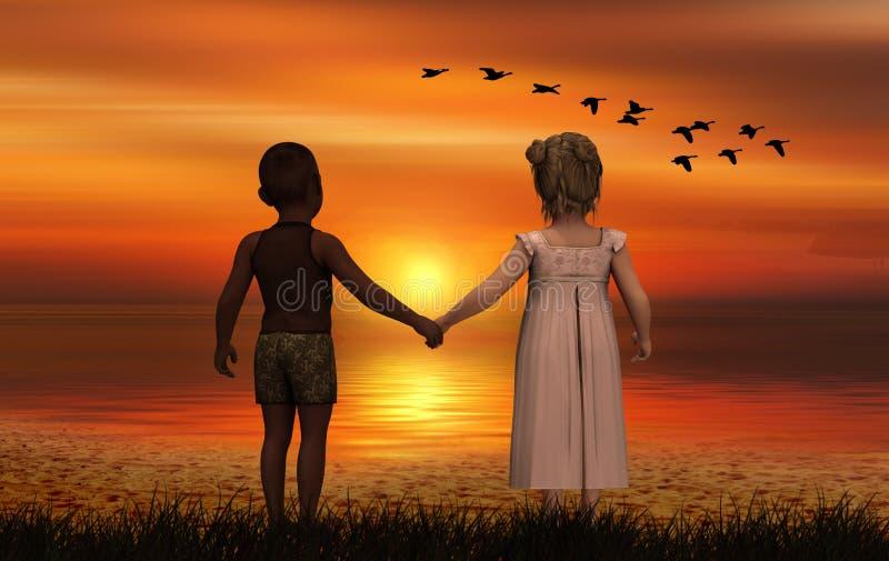 Romance, Sky, Love, Friendship stock image