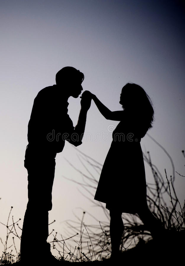 Download Romance at Twilight stock photo. Image of girl, wife - 12673470