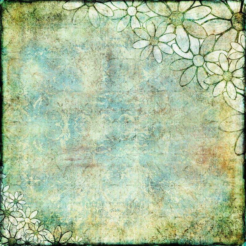 Romance vert illustration libre de droits