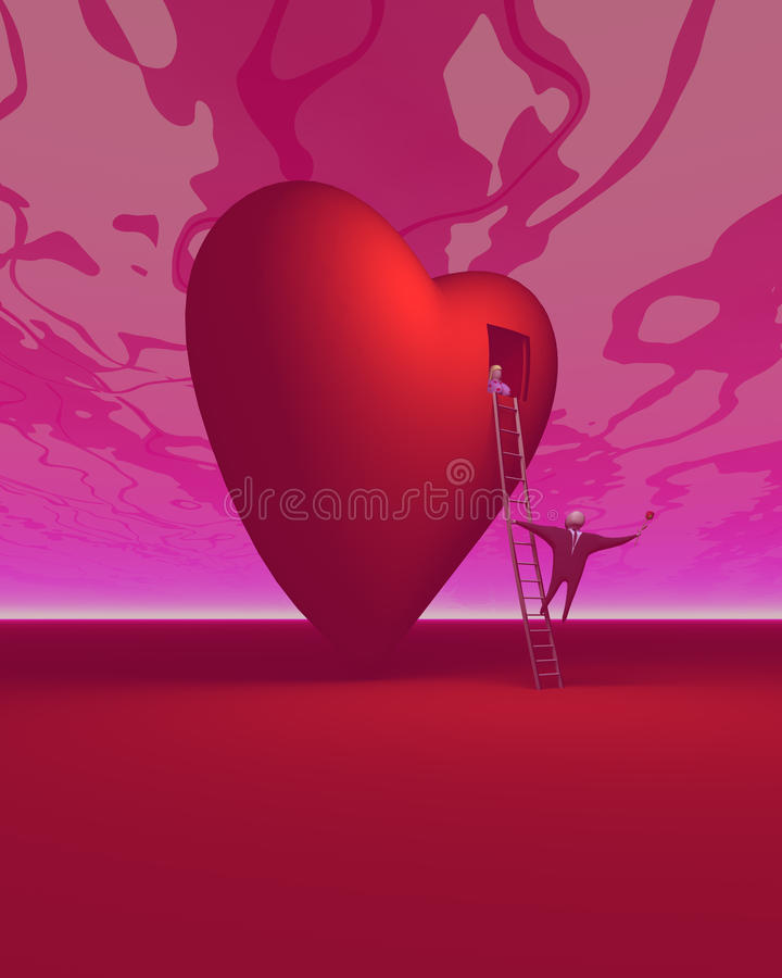 Download The Romancer 2 stock illustration. Illustration of abstract - 16798299