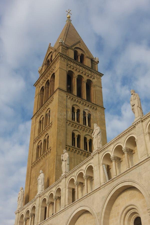 Romanesque καθεδρικός ναός του Pecs στοκ φωτογραφίες