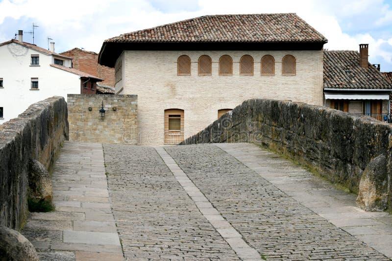 romanesque Испания reina puente la моста стоковое фото