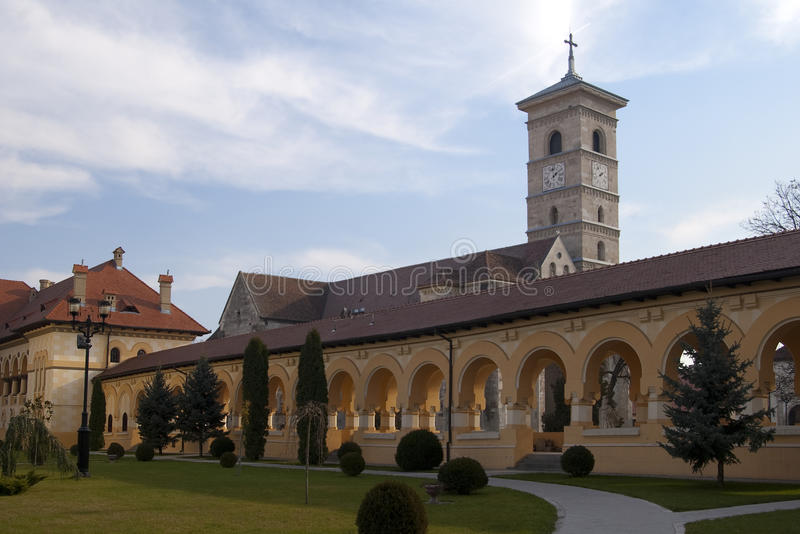 Download Romanesque cathedral stock image. Image of church, transylvania - 16823675