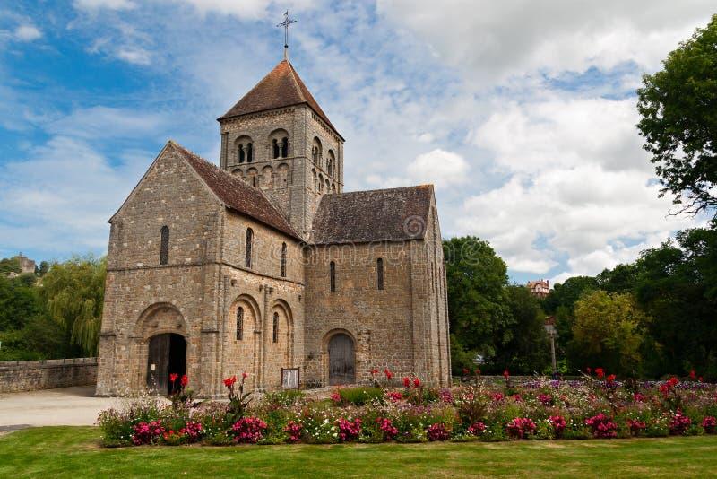 Romanesque Church in Domfron stock photos