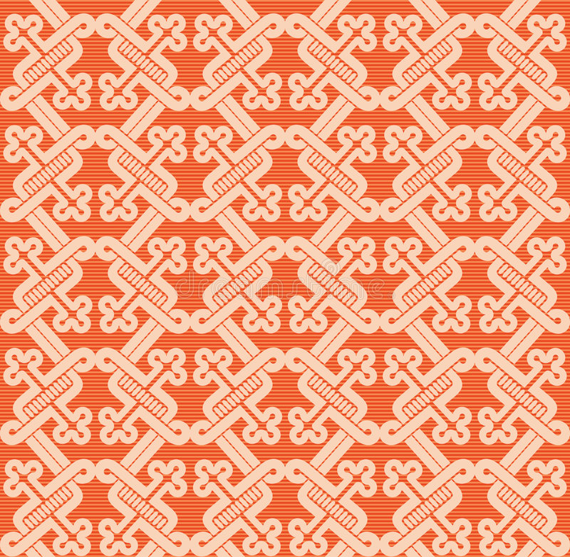 Romanesque pattern. The complex pattern. Vector image vector illustration