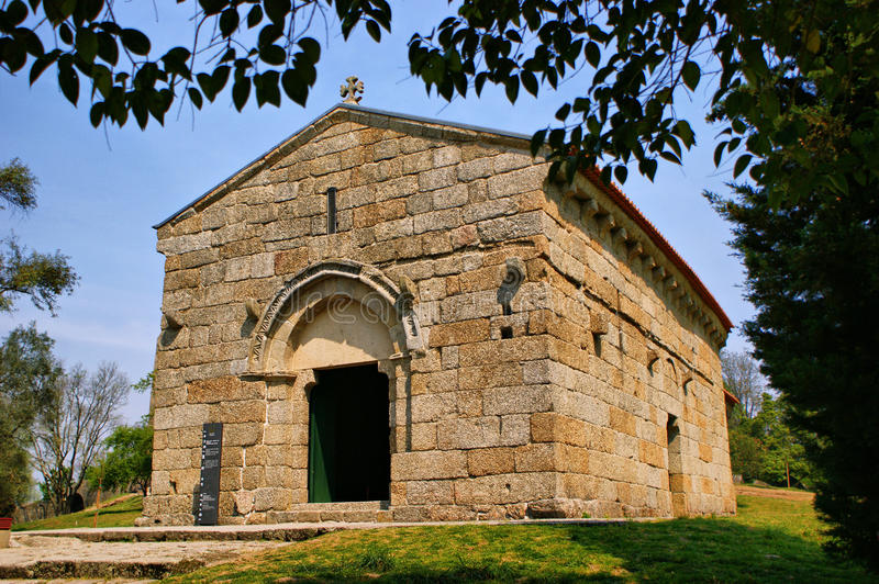 Download Romanesque Sao Miguel Church Stock Image - Image of church, place: 60063501