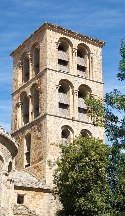 romanesquetorn arkivbilder