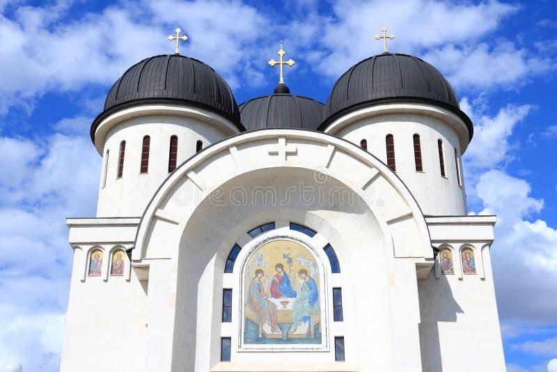 Romania - Arad. Arad, Romania. Orthodox cathedral of Holy Trinity royalty free stock images