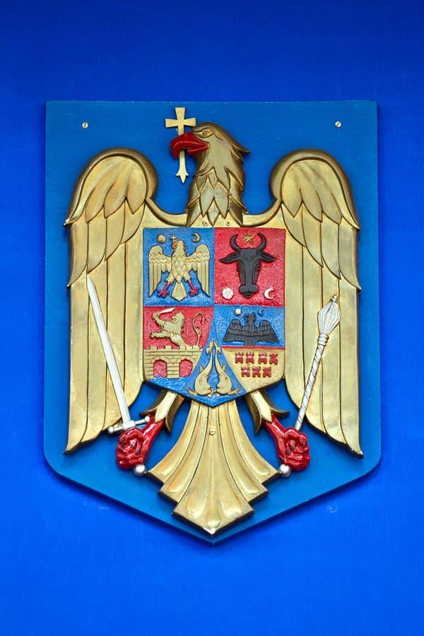 Download Romania call of arms stock image. Image of moldova, flag - 26329611
