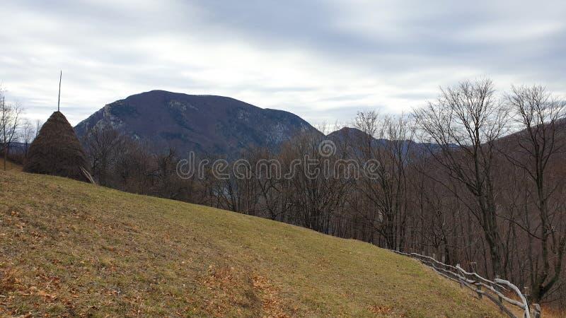 Romania, Cernei Mountains, Dobraia Village. royalty free stock photo