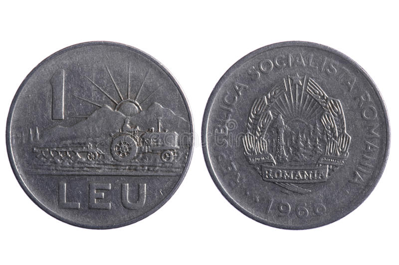 Download Romania coins macro stock photo. Image of front, finance - 16504064