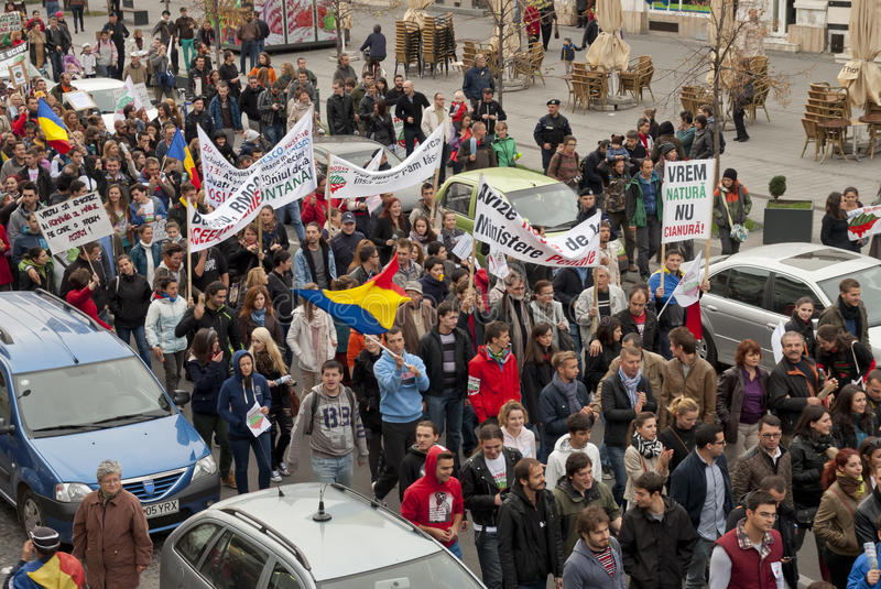 Download Romania In Continuous Protest Editorial Stock Photo - Image: 34018658
