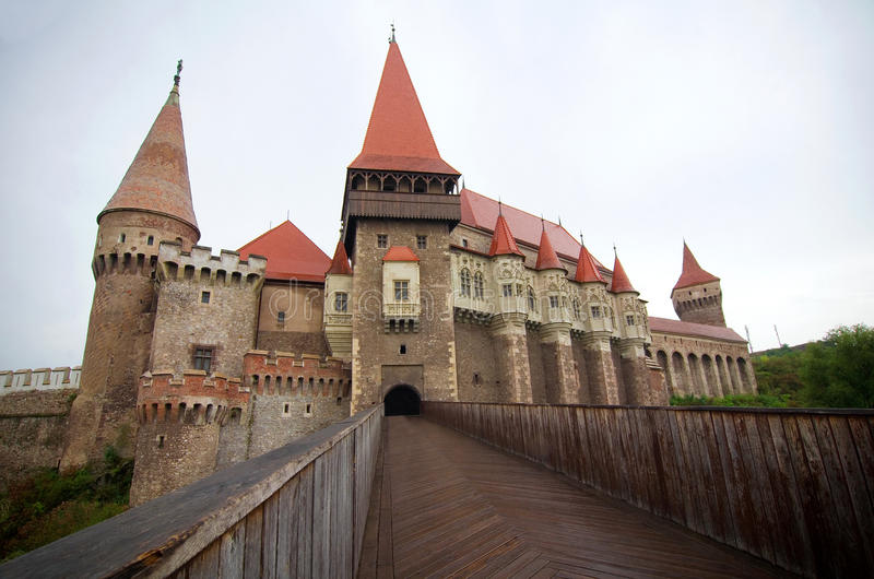 Romania - Corvin Castle royalty free stock photography
